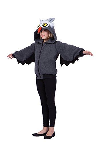 Hoodie Oxford Owl Child Costumes (OXFORD OWL HOODIE- CHD LG)