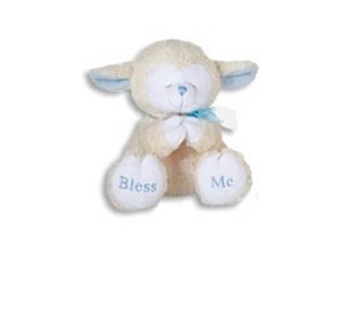 (PRAYING LAMBS-8 INCH/BLUE/Plays