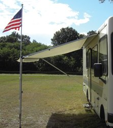 Awning Pole Kit (Adjust-A-Brush PROD104 Flag Kit with Holder)
