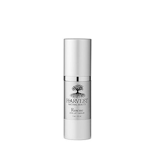 Harvest Natural Beauty Rescue Eye Lift Serum- Natural Organic Eye Serum – Reverse Wrinkles, UV Damage, Dark Circles Crow s Feet – All Natural, Non-Toxic, Vegan and Cruelty Free.