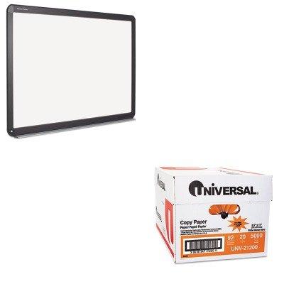 KITBVCBI1691802UNV21200 - Value Kit - Bi-silque Interactive Magnetic Dry Erase Board (BVCBI1691802) and Universal Copy Paper (UNV21200)