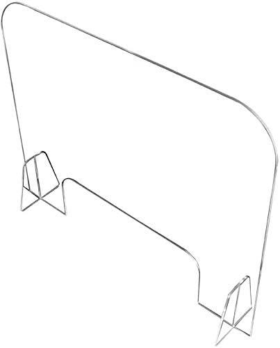 LHFSM 40x40cm Mampara de protección en metacrilato Transparente,Mampara para farmacias,for Supermercados Farmacias Tiendas (3 mm de Espesor): Amazon.es: Hogar