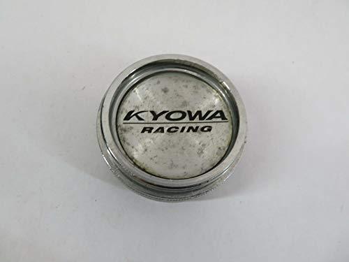 Hiscarpart #609Z30 KYOWA Racing MM Chrome Alloy Wheel Center HUBCAP HUB Cap Cover Piece (Kyowa Racing)