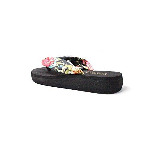 On Toe Summer Ladies Post Flops Womens Soft Casual Flip Black A Slip Sine90® AaqHXWRWw