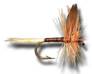 Ginger Quill Fly Fishing Fly - Size 16 - 12 Pack