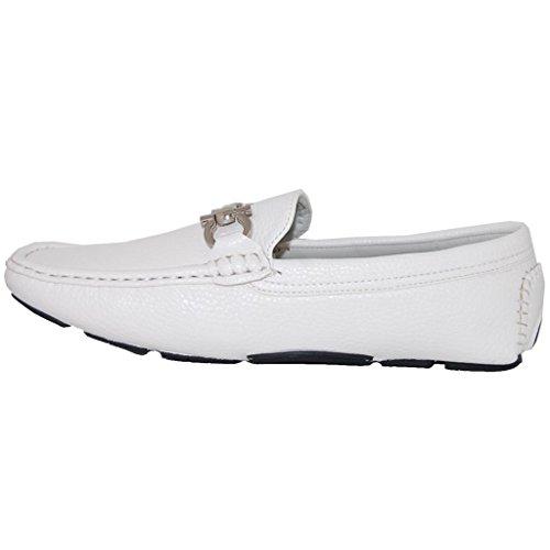 Shoe Artist White Party Slip On Mens Loafer - Uomo