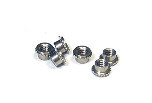Miniature SELF-CLINCHING PEM NUT 4-40: Stainless Steel Material with a passivated Finish (Package of 100) FEX-440 by PEM