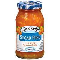 Smucker's Sugar Free Orange Marmalade Preserves 12.75 oz (Pack of 12)