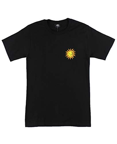 Stussy Men T-shirt - Stussy Int. Sun Tee Men's Black (Small)