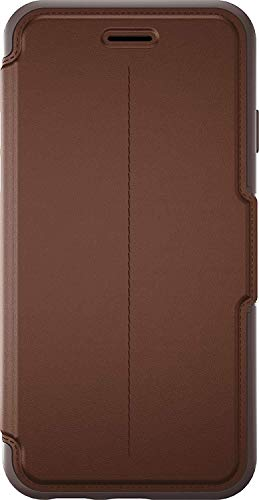 OtterBox Strada Series Leather Wallet Case for iPhone 6/6S - Bulk Packaging - Saddle (Dark Brown/Brown/Brown Leather)