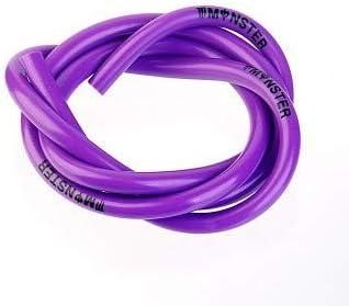 DishyKooker Fuel Pipe Tubing Petrol Line Unleaded Oil Fuel Gas Hose 1M Purple Motorcycle Car