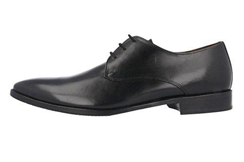 Essex mANZ-business-chaussures homme noir chaussures en matelas grande taille