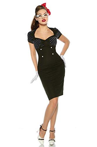 im schwarz Stil Up Atixo Vintage Pin Kleid EPqB1wO
