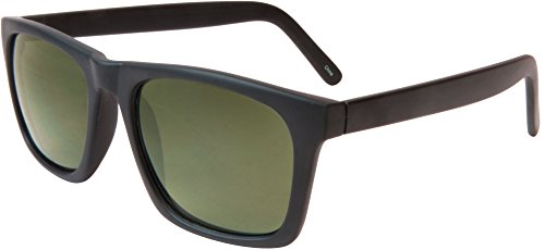 Geoffrey Beene Mens Plastic Retro Sunglasses One Size Black (Geoffrey Beene Glasses)