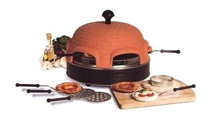 Pizzadom Original - Forno per pizza per 6 persone Umdrinox