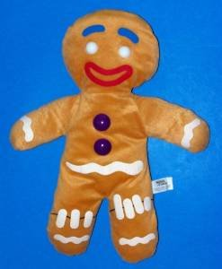 Shrek Gingerbread Man Plush
