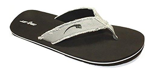 Gewoon Speed Mens Groot Formaat 13-14 - 15 Flip Flop Sandalen Zwart