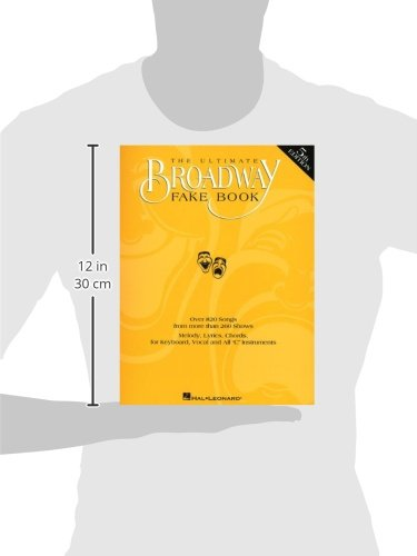 The Ultimate Broadway Fake Book Hal Leonard Corp 9780793582594