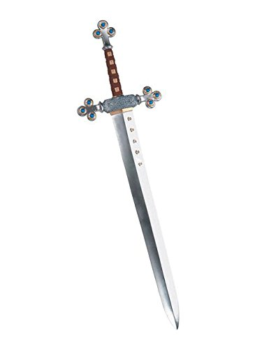 Disguise Men's Lion's Sword Costume Accessory, Silver, Adult -
