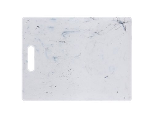 Dexas PolyMarble Cutting Board, White, 11 x 14.5 inches