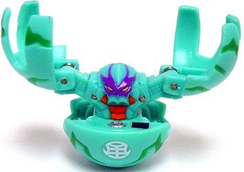 Bakugan Battle Brawlers Game Single LOOSE Figure Zephyroz Fear Ripper ()