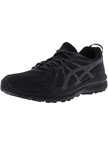 ASICS Women's Frequent Trail Black/Carbon Ankle-High Running Shoe - 10M
