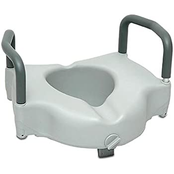 Amazon Com Invacare Clamp On Raised Toilet Seat With Arms