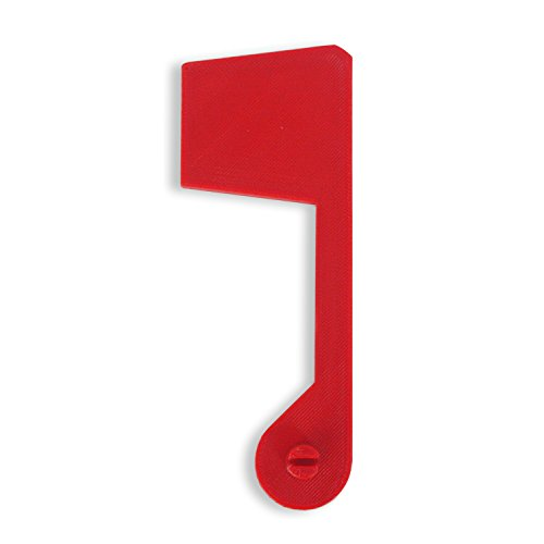 Red Replacement Flag for Rubbermaid Mailbox - Perfect Fit With No Installation Required - Large Capacity Mailbox - Snap Fit Plastic - Designed to Fit a 3/8 Inch Hole - All Weather ABS - Replacement Flag Kit