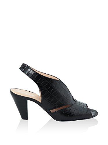 Giorgio Picino Zapatos de talón abierto Negro EU 38
