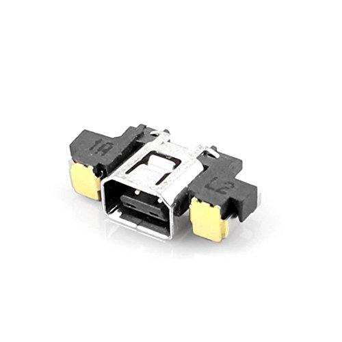 Vivi Audio For Nintendo 3DS Power Jack Charging Port Socket Connector Dock Replacement Part (Parts Replacement 3ds)
