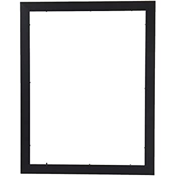 Amazon.com - ArtToFrames 15x20 inch Satin Black Picture Frame ...