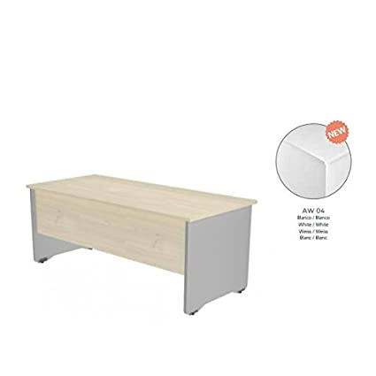 Rocada 63251 - Mesa oficina, color blanco: Amazon.es ...