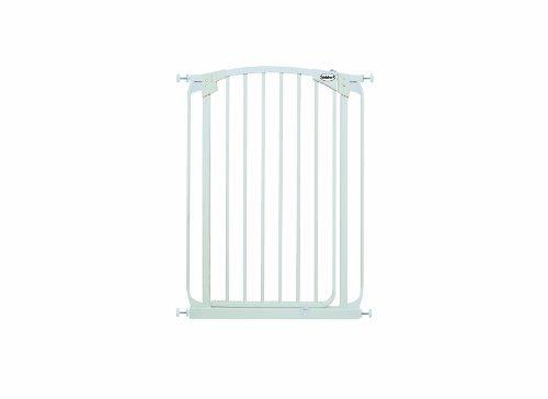 Bindaboo Hallway Pet Gate, Swing Closed, White, Extra-Tall by Bindaboo Pet Gates -