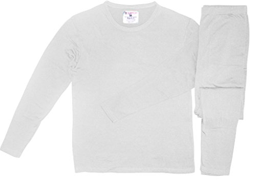 therma-tek-mens-ultra-soft-tagless-fleece-lined-thermal-top-bottom-underwear-set-white-small