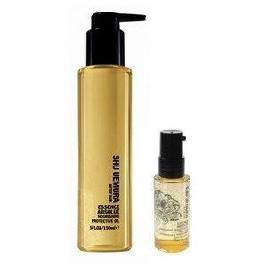 Shu Uemura Essence Absolue Nourishing Protective Oil Unisex, Full 5 Ounce & Travel Size (Set of 2) by Shu Uemura