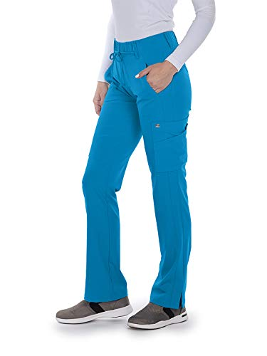 Grey's Anatomy Signature 2218 Olivia Scrub Pant Mediterranean Blue - Scrub Tall Women Pants