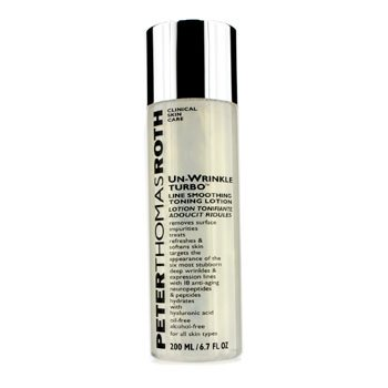 Amazon.com : Peter Thomas Roth Un-Wrinkle Turbo Line Smoothing Toning Lotion 200ml/6.7oz : Beauty