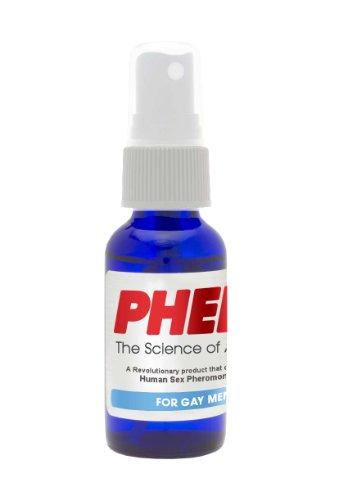 PherX Pheromone Cologne pour hommes Gay (attirer les hommes) - la Science de l'Attraction - 18mg de phéromones humaines