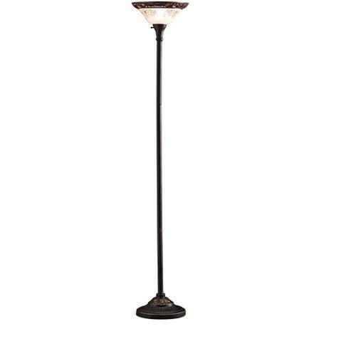 Better Homes and Gardens Victorian Floor Lamp with CFL Bulb, Satin Copper