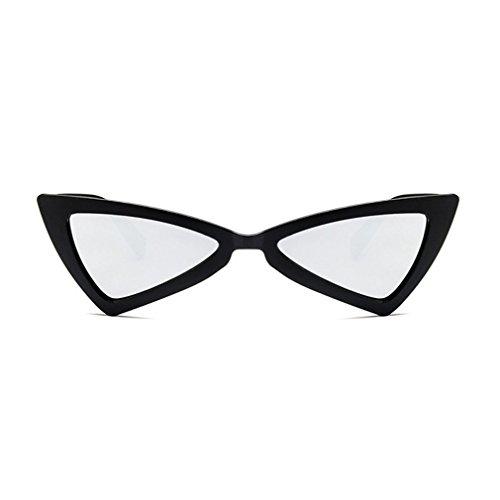 sol de UV400 de ojo de gato mujer viaje para Gafas de diseño de triángulo sol gafas d5Fpqvwcx6