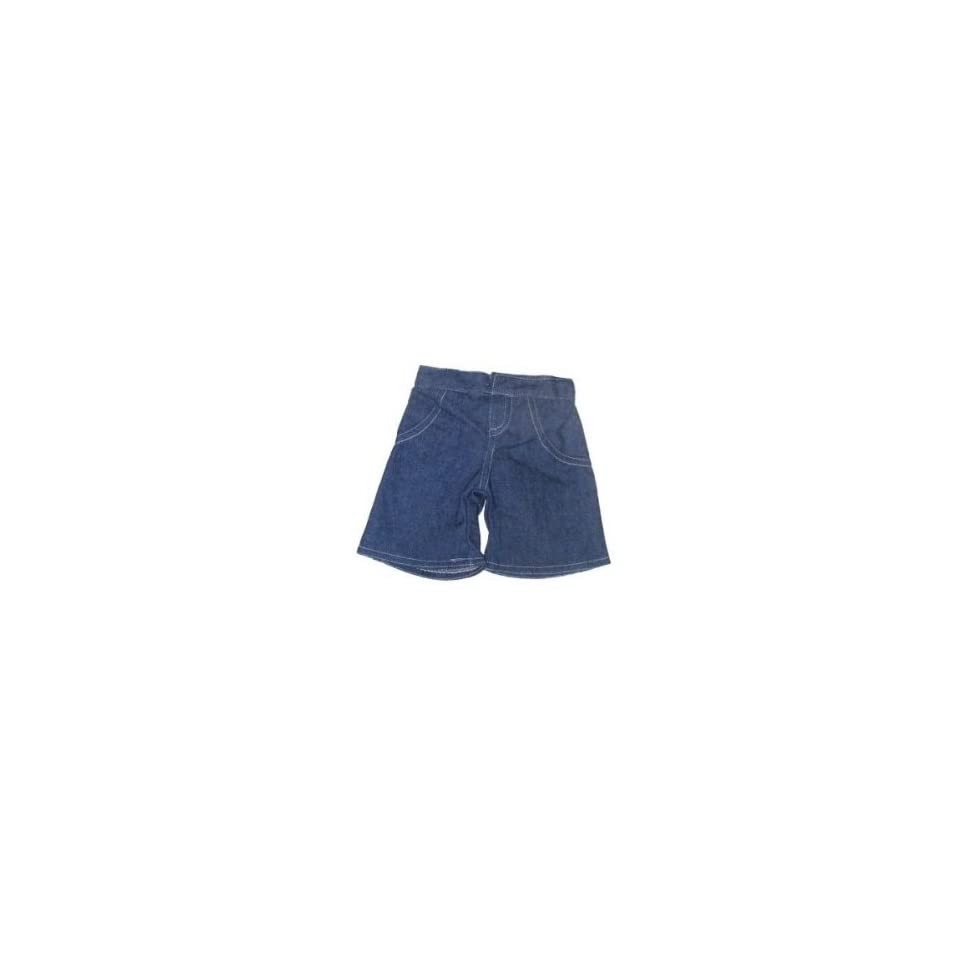 Cowboy Pants Wide Legs (Blue) Teddy Bear Clothes Fit 14   18 Build a bear, Vermont Teddy Bears, and Make Your Own Stuffed Animals