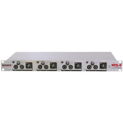 NADY HPA-4 4-Channel Headphone Amplifier/Line Distributor-by-NADY