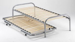 Double Guest Bed   Trundle Bed  (Silver) Capricorn: Amazon.ca
