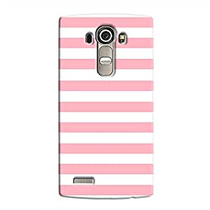 Cover It Up - Pink Stripes LG G4Hard Case