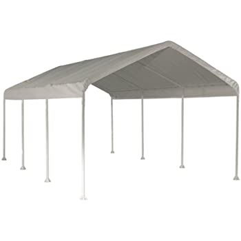 this item shelterlogic 10 x 20 feet canopy 2 inch 4 rib frame white cover