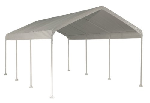 ShelterLogic SuperMax Heavy Duty Steel Frame Quick and Easy Set-Up Canopy 10' x 20'