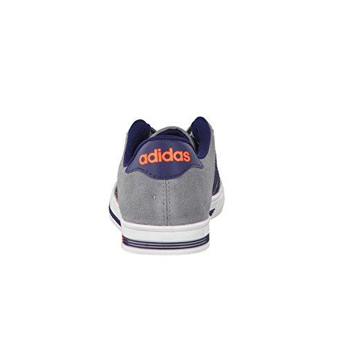 Adidas Daily Team K, Scarpe da Ginnastica Unisex – Bambini, Grigio (Gris/Maruni/Narsol), 36 EU