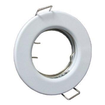 10 X Plafonnier ampoules GU10 240 V Blanc