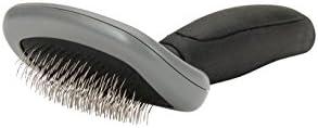 VETOCANIS Brosse carde de toilettage pour Chat taille S de couleur grise, Adaptés poils mi-longs, longs et épais