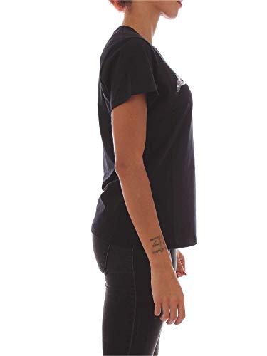 Pinko Mujer Algodon 1b13h5y4dkz99 shirt Negro T U1CqrU7w